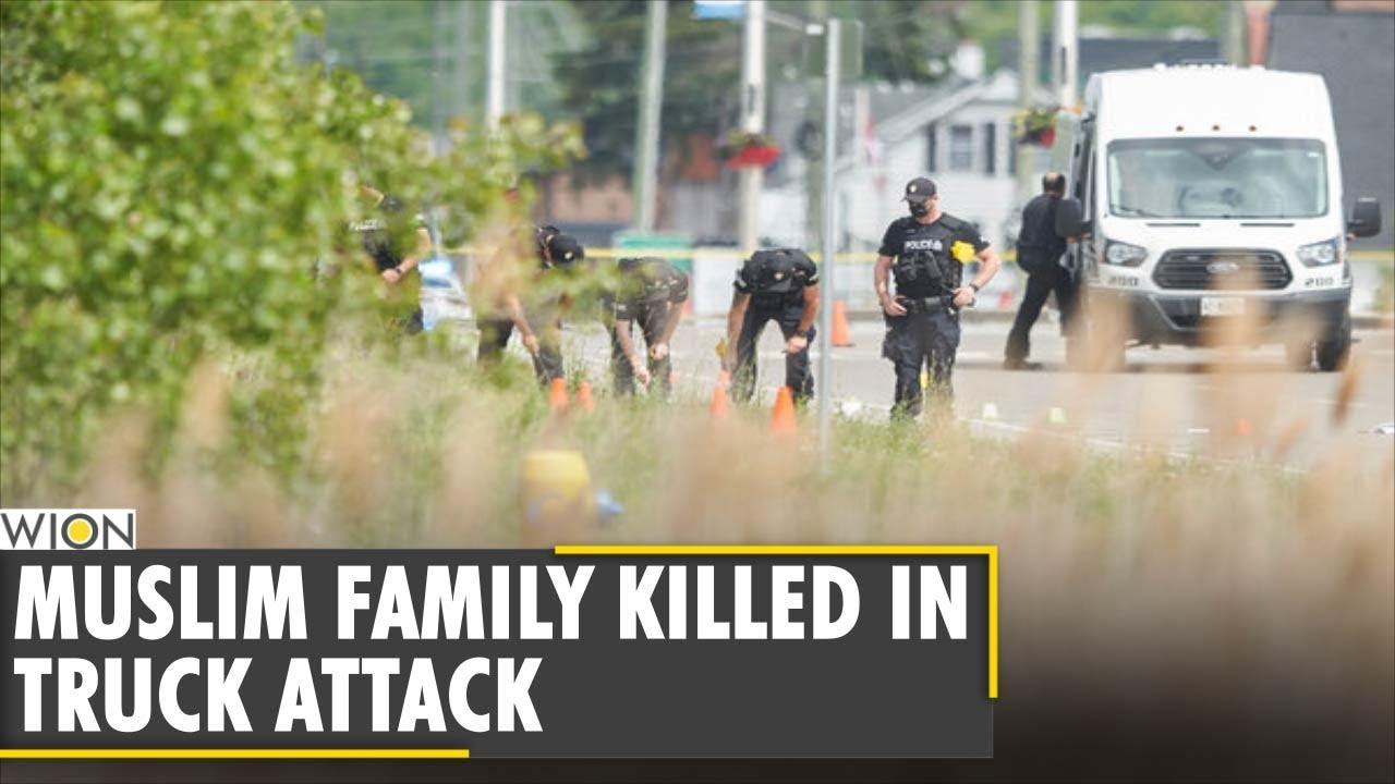 Muslim family killed in 'premeditated' truck attack in Canada  | English News | WION News