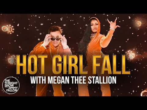 The Wake Up Show - Megan Thee Stallion and Jimmy Fallon Introduce 'Hot Girl Fall'