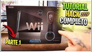 La Forma MÁS FÁCIL de HACKEAR una Wii para NOVATOS y SIN INTENET en 2019 - Parte 1