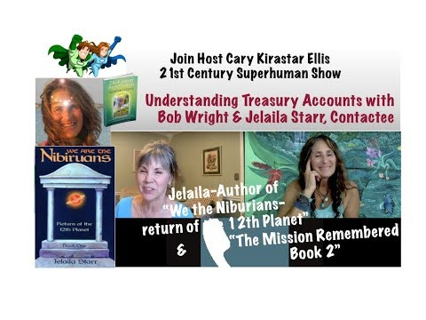 Understanding Treasury Accounts with Bob Wright & Jelaila Starr, Contactee - 21st Century Superhuman