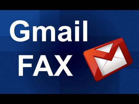 How to Gmail Fax to send a fax from Gmail - YouTube