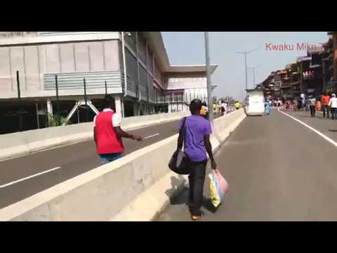 Kumasi Kejetia Market (Outside View) pt 1. Kumasi-Ghana