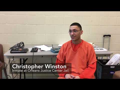 Music therapy programs offers inmates outlet to vent, create original music