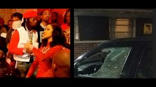 Atlanta Goons Try To Kill Offset Drive By Shooting Cardi B Respond To OG Product