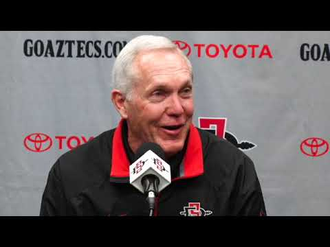 SDSU FOOTBALL: ROCKY LONG - AIR FORCE PREVIEW