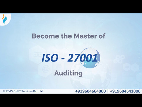 ISO 27001 Lead Auditor Training Course | ISO 27001 Lead Auditor