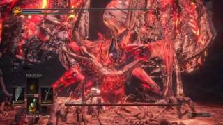 dark souls iii bosses demon in pain demon from below demon prince