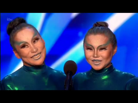 Angara Contortion Perform On Britains Got Talent 2017 HDTV [YOLO] [SKIPPYTV]