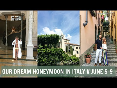Dream Honeymoon \\ LAKE COMO ITALY