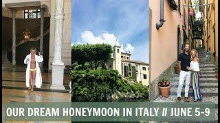 Our Honeymoon in Lake Como Italy