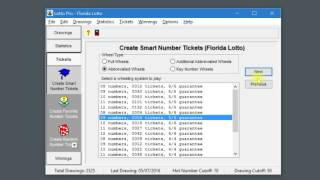 Lotto Pro Tutorial # 1 - Creating Your Lottery Tickets