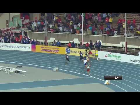 Boys' 800m final from the IAAF World U18 Championships Nairobi 2017