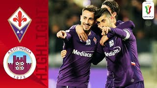 Fiorentina 2 0 Cittadella Benassi Brace Sees 10 Man Fiorentina Through Round 4 Coppa Italia