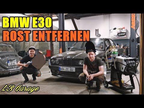 LB GARAGE   BMW E30 ROST-BEKÄMPFUNG   TÜV?