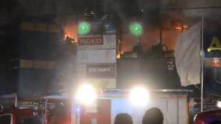 В Орле 8 января произошел пожар в торговом центре «Атолл»