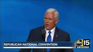 FULL SPEECH: CHARMING! Mike Pence - Paul Ryan intro - Republican National Convention