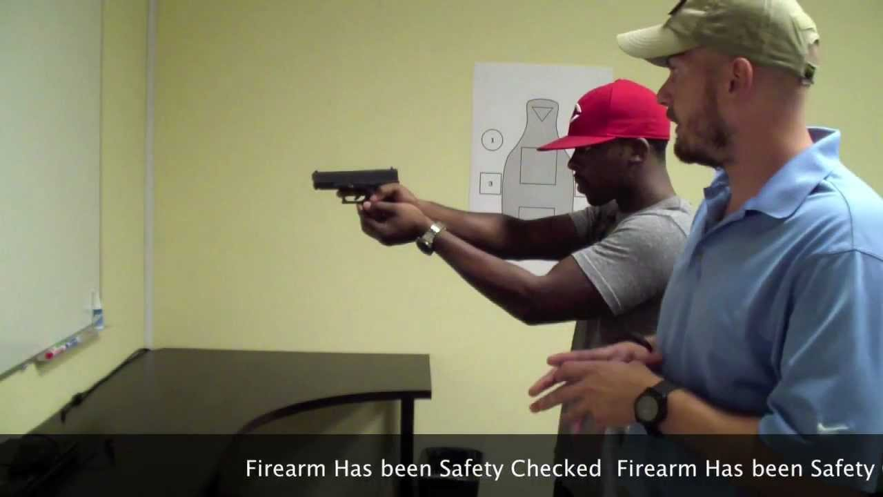 Introduction to Defensive Handgun Training: Grip & Stance