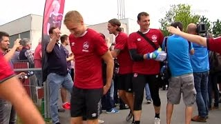 Trainingsauftakt beim 1.FC Nürnberg