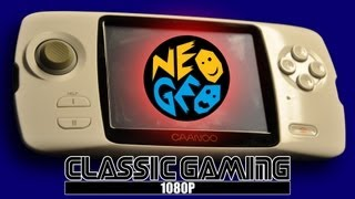 CAANOO playing NEO GEO (SNK)