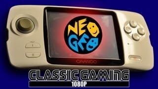 CAANOO playing NEO GEO (SNK)