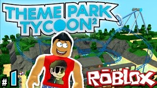 Theme Park Tycoon! Ep. 1: ROLLERCOASTERS | Roblox