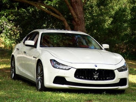 On the road 2014 Maserati Ghibli S Q4