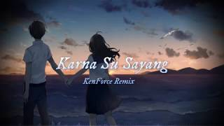 Near - Karna Su Sayang Ft Dian Sorowea  Kenforce Remix  Lyric Video