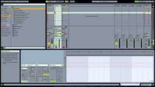 Ableton Tutorial: Easy Note Repeat and Dummy clips