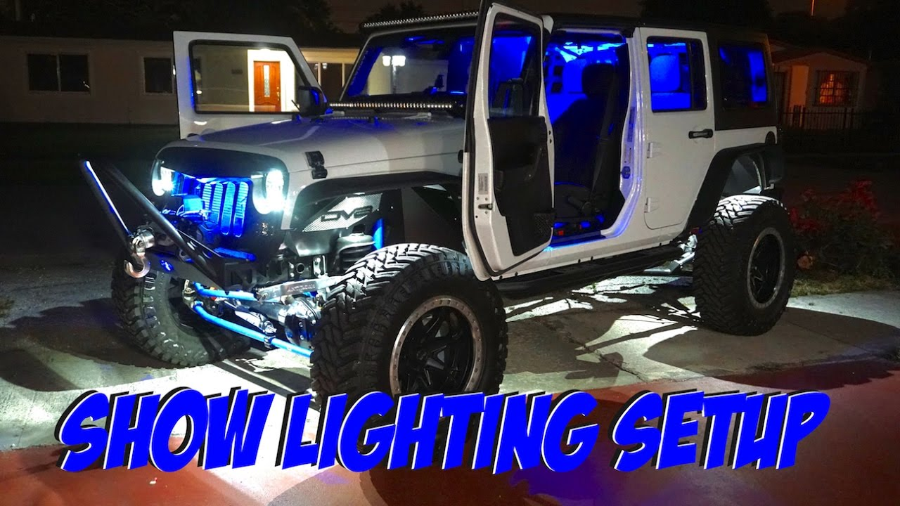 2017 jeep wrangler unlimited interior lights