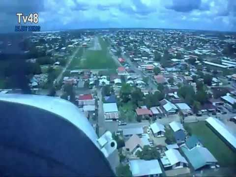 Adventure in Suriname: original Cessna 206 MAF smzo to Kaja a Poesoegroenoe