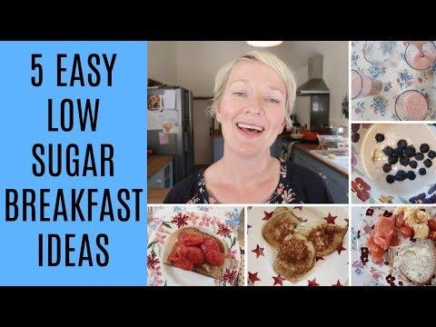 5 EASY LOW SUGAR BREAKFAST IDEAS | MRS RACHEL BRADY