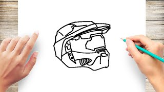 How to Draw Halo Step by Step for Kids