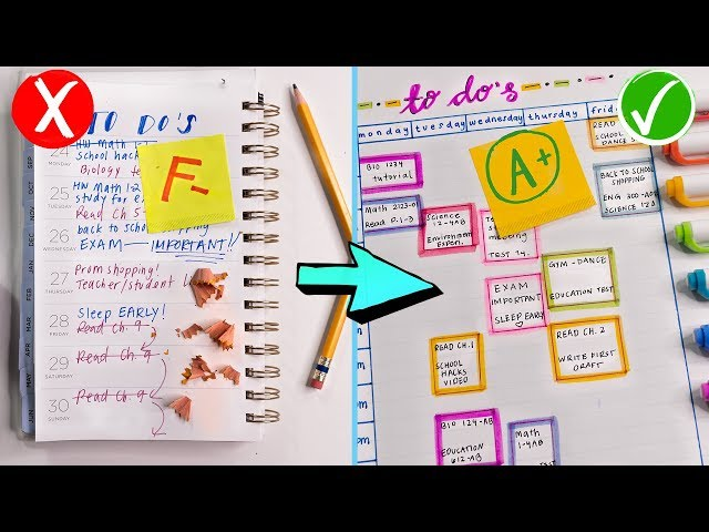How To Stop Procrastinating & Be Productive! Back To School 2019