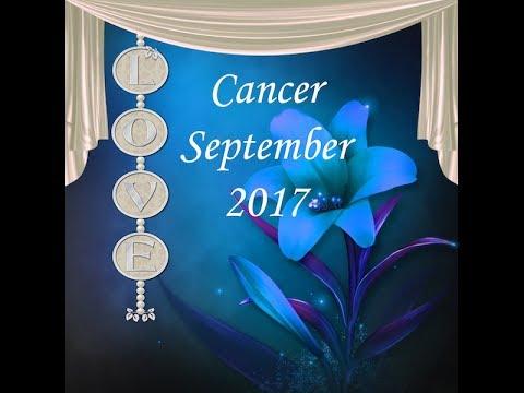 CANCER GENERAL LOVE FORECAST SEPT, 2017