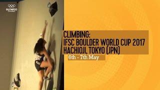 Upcoming Event Trailer - IFSC Climbing World Cup Hachioji-Tokyo 2017 - BOULDERING thumbnail