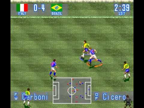 SNES Longplay [261] International Super Star Soccer