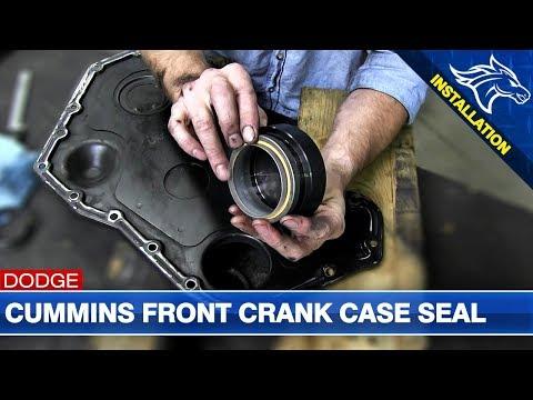 Front Crank Case Seal Install: 5.9L/6.7L Dodge Cummins