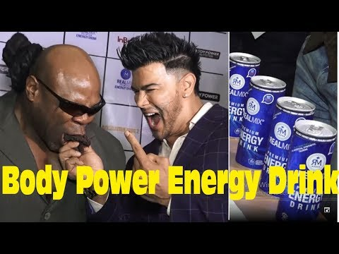 Kai Greene & Sahil Khan Launch Of Energy Drink Bodypower