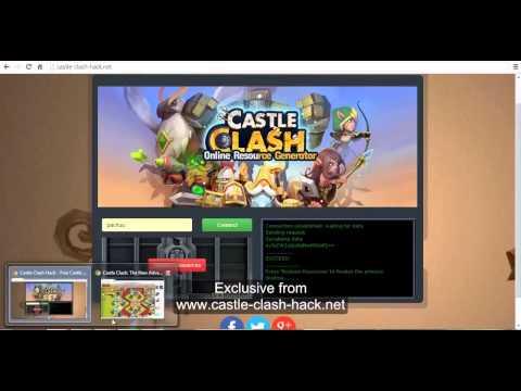 Hack Gem Castle Clash