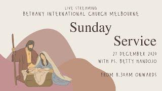 BIC Melbourne Sunday Service 27th December 2020