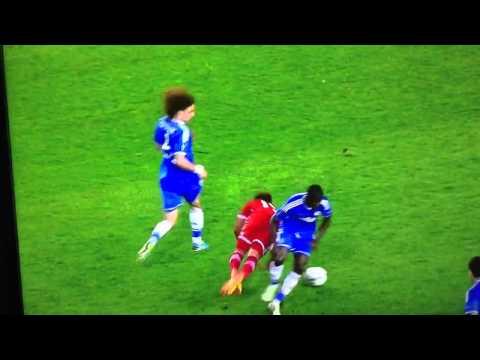 Ramires Red Card Vs Bayern Munich 30-8-13