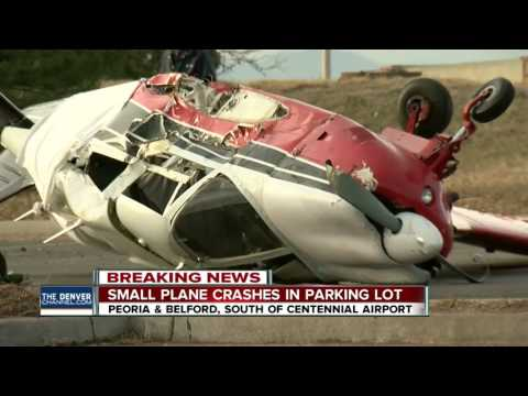 Small plane crashes south of Centennial airport