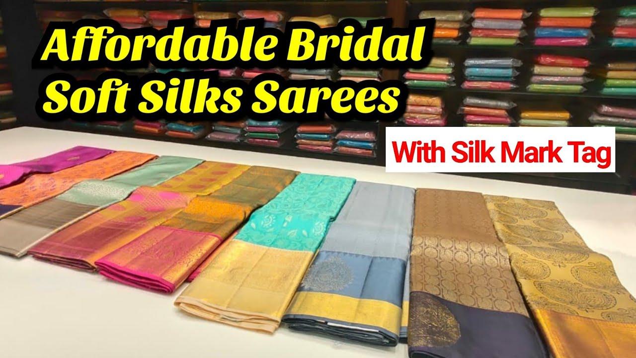 Pachaiyappas Pure Soft Silk Sarees with Price   Soft Silk Sarees with Silk mark tag