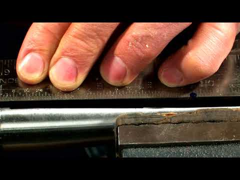 Gunsmithing - How to Letter and Number Stamp a Rifle Barrel