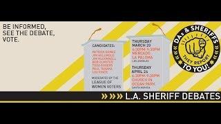 L.A. County Sheriff Debates - Church in Ocean Park