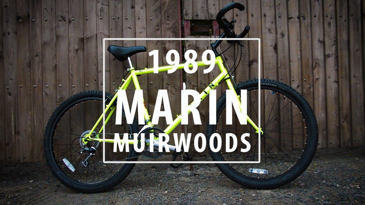 1989 Marin Muirwoods Vintage Mountain Bike Restoration Retro Rebuild