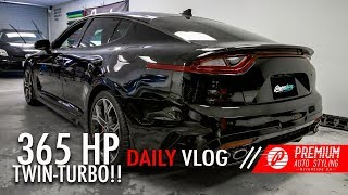 YOU MIGHT GET BEAT BY THIS TWIN-TURBO KIA!! (365 HP STINGER GT)