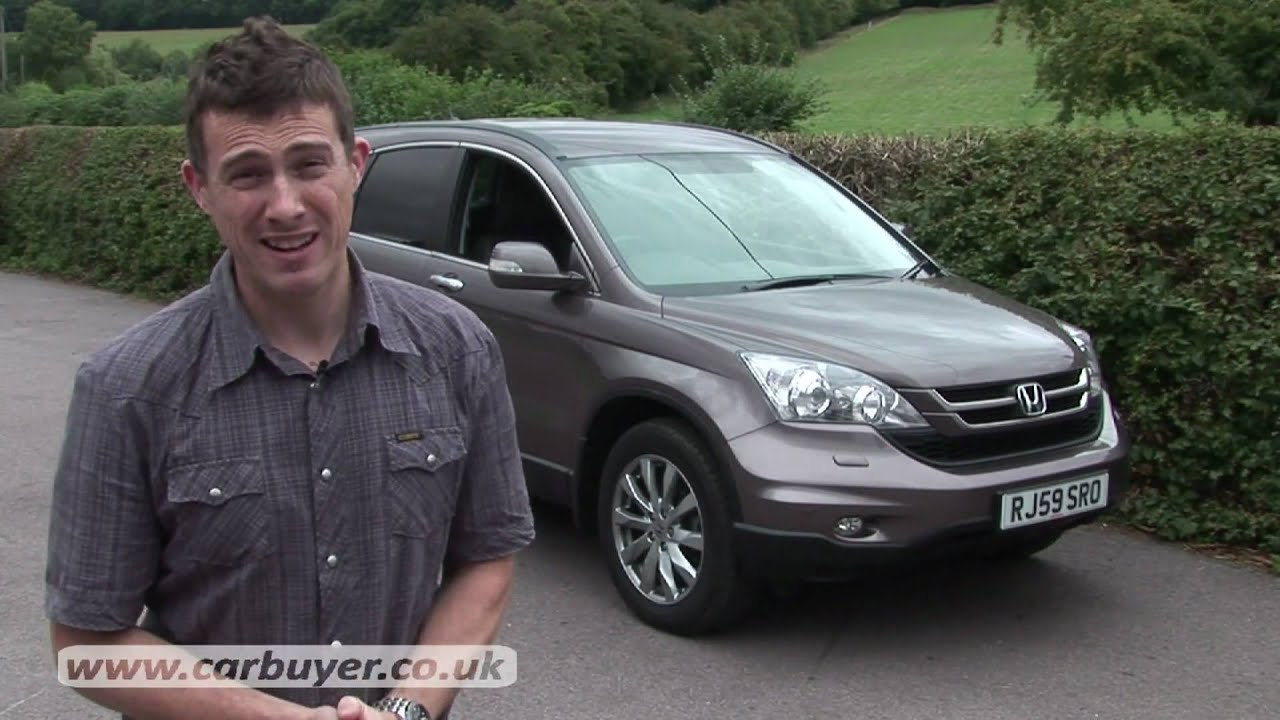 Great Honda CR V 2007   2012 Review   CarBuyer   YouTube