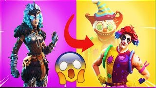 *NEW* FEMALE RAGNAROK! LEAKED SKINS, GLIDERS, BACKBLING + More! (Fortnite Battle Royale!)