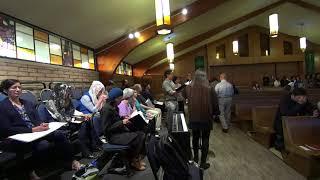 COSJ Choir in Chorum sings Peeters' Ave Verum, La Rocca's Ave Maria & Hildegard's O Virga Mediatrix